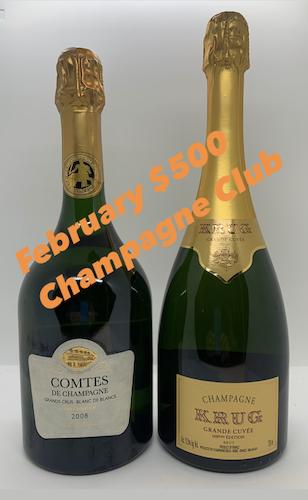February $500 Champagne Club