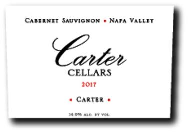 2017 Carter Cellars Carter Cabernet Sauvignon