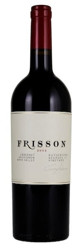 2012 Frisson Georges III Vineyard Rutherford