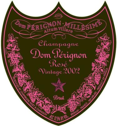 2002 Dom Perignon Rose Magnum