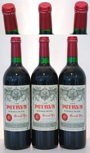 1998 Petrus 3 Bottle Set