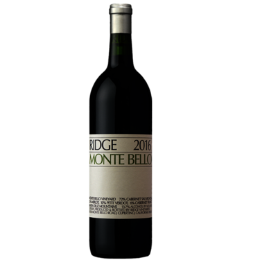 2016 Ridge Monte Bello