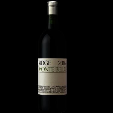 2016 Ridge Monte Bello
