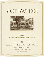 2018 Spottswoode Savignon Blanc
