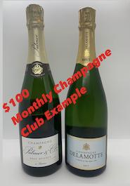 February $100 Champagne Club