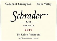 Schrader's Newest To-Kalon Block