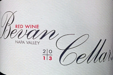 2014 Bevan, Napa Valley, Ontogeny Red Wine