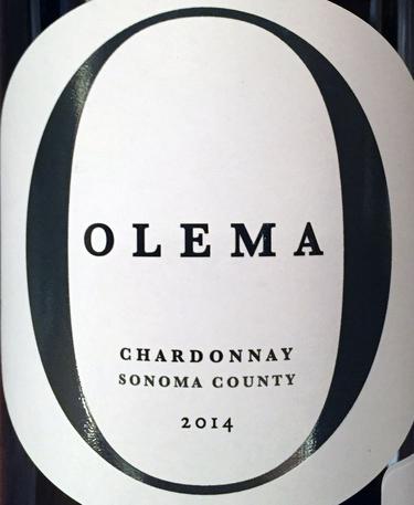 2014 Olema Chardonnay Sonoma County