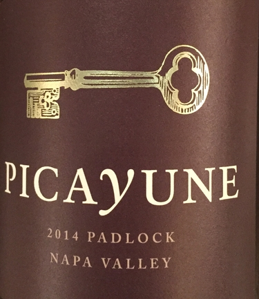 2014 Picayune, Napa Valley, Padlock Red Blend