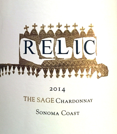2014 Relic The Sage Chardonnay, Sonoma Coast
