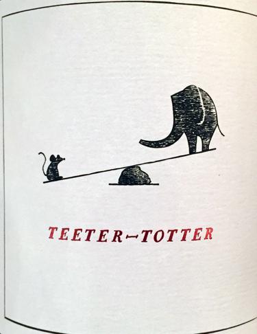 2014 Teeter Totter, Napa Valley, Cabernet Sauvignon