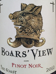 2012 Boar's View Pinot Noir, Sonoma Coast