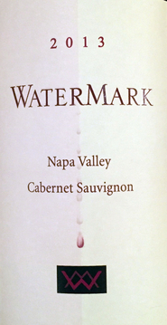 2013 Watermark, Cabernet Sauvignon, Napa Valley