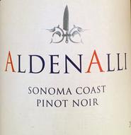 2014 Aldenalli Pinot Noir Sonoma Coast
