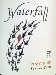 2014 Waterfall, Sonoma Coast, Pinot Noir